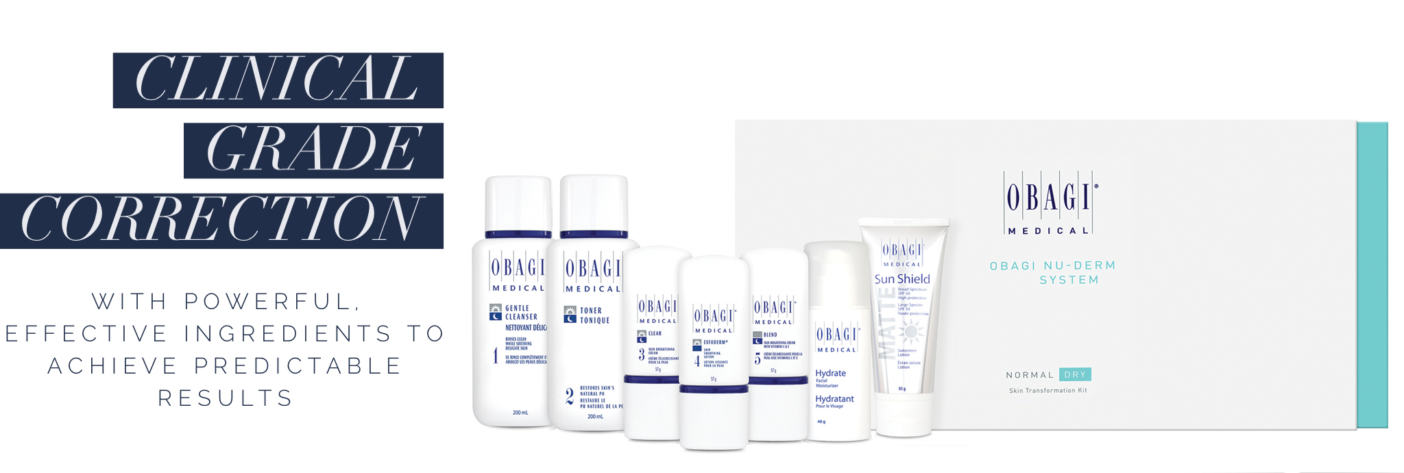 Obagi Medical Clinical Grade Correction